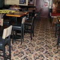 sticky wicket dining room flooring